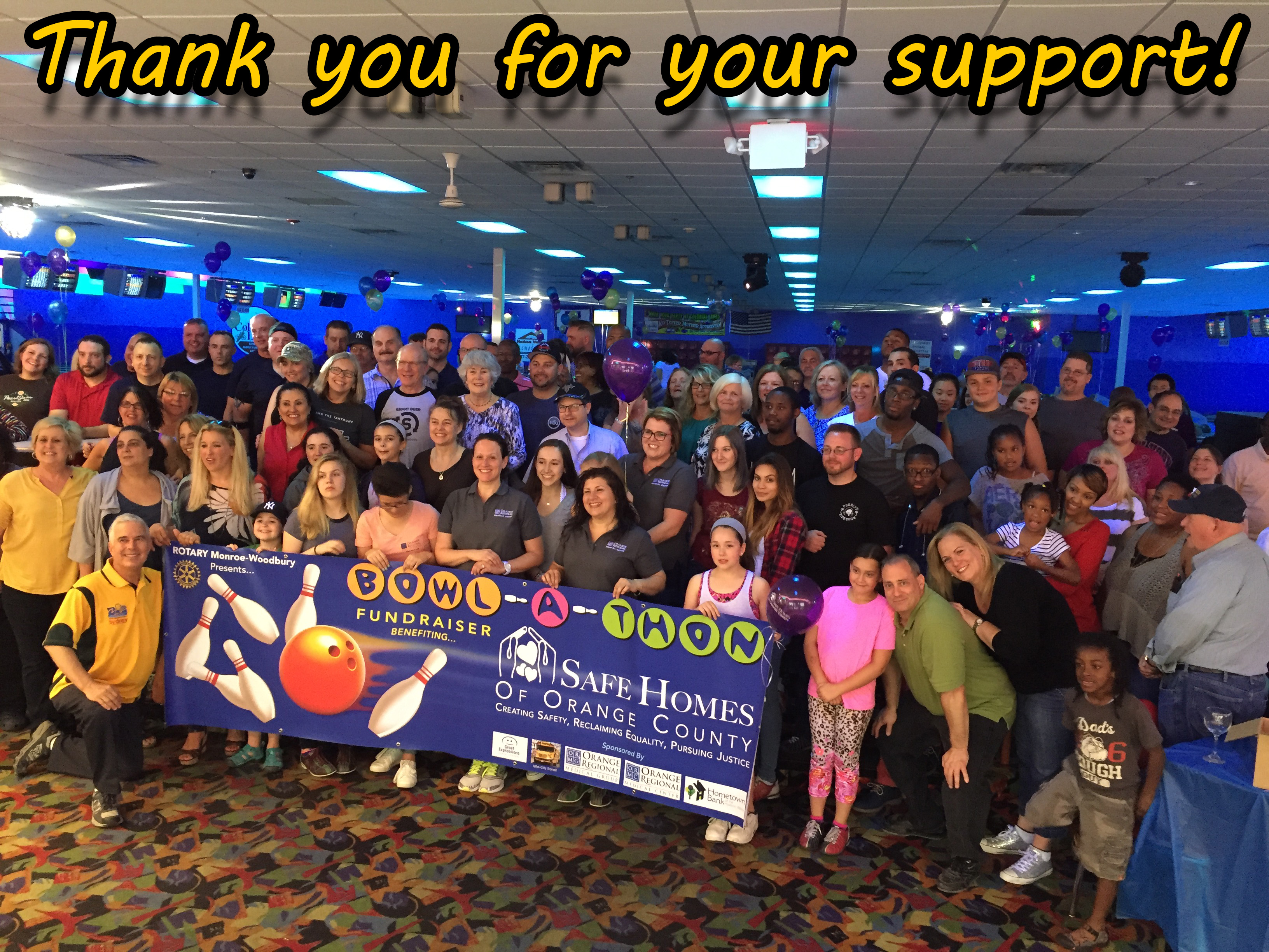 MW Rotary Bowlathon Group shot